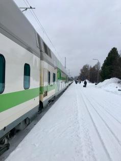 VR Train at Rovaniemi